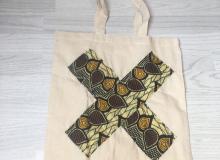 Yellow cross shopper £8