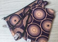 Purple cream purse set £8